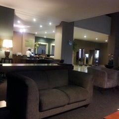 Photo taken at Hotel Harbor Baroni Guarapuava by Marcio S. on 11/6/2012