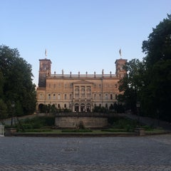 Photo taken at Schloss Albrechtsberg by Kristina P. on 7/15/2015