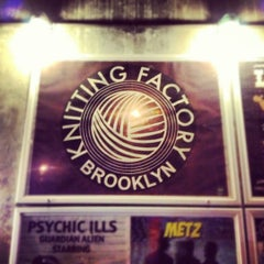 Photo taken at The Knitting Factory by Thomas Bech on 11/11/2012