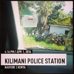 Photo taken at Kilimani Police Station by Immodj on 4/1/2014