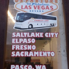 Photo taken at American Lion Trans. Bus Travel Agency by Pavan K. on 1/26/2013