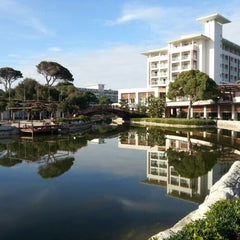 Photo taken at Rixos Premium Belek by Konstantin P. on 1/20/2013