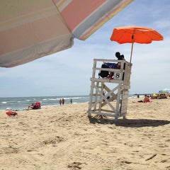 Photo taken at 8th Street at the Oceanfront by Chris N. on 6/5/2013