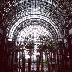 Photo taken at Winter Garden Atrium by Michelle D. on 5/25/2013