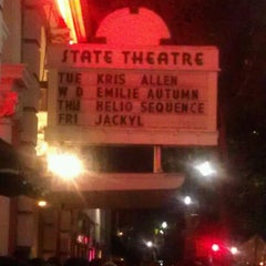Photo taken at State Theatre by Brooke Z. on 1/22/2013