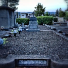 Photo taken at Saint Helena Public Cemetery by Peter S. on 4/8/2014