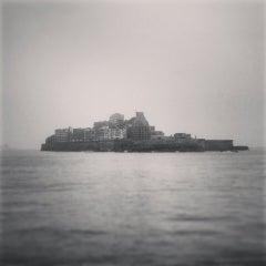 Photo taken at 端島 (軍艦島) Hashima (Gunkanjima) Island by Satoshi K. on 5/21/2013