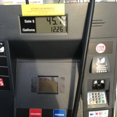 Photo taken at BJ's Gas Station by Mary B. on 2/23/2013