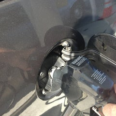 Photo taken at BJ's Gas Station by Mary B. on 2/9/2013