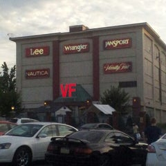 Photo taken at VF Outlet Center by Laura D. on 8/9/2013