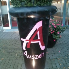 Photo taken at Auszeit Hotel by Peter on 10/19/2014