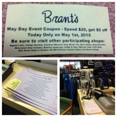 Photo taken at Brants Clothing by Scott B. on 4/24/2015