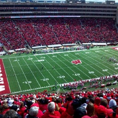 Photo taken at Camp Randall Stadium by Duane S. on 9/22/2012