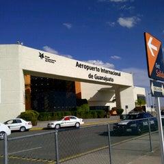 Photo taken at Aeropuerto Internacional de Guanajuato (BJX) by Fidel C. on 1/12/2013