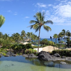 Photo taken at Grand Hyatt Kauai Resort and Spa by Cara on 10/10/2012