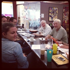 Photo taken at The Novel Cafe by Kelley C. on 6/3/2013