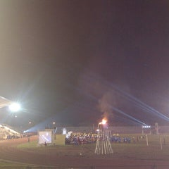 Photo taken at Stadion Maesa Tondano by Henryriddel R. on 11/20/2013