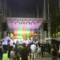 Photo taken at Plaza De La Luz by Camilo R. on 12/20/2013