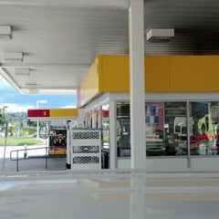 Photo taken at Shell by Eric S. on 9/16/2013