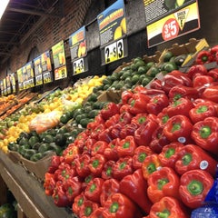 Photo taken at Fairway Market by Adam P. on 4/24/2013