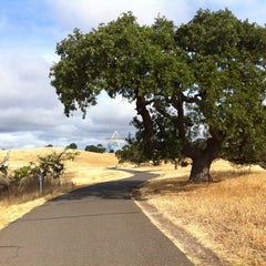 Photo taken at Stanford Dish Trail by Michael P. on 5/26/2013