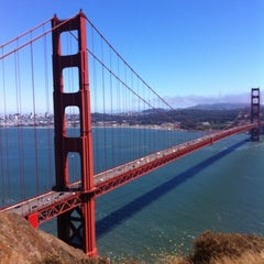 Photo taken at Golden Gate Bridge by Michael P. on 6/16/2013