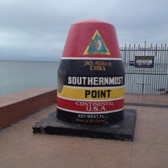 Photo taken at Southernmost Point Continental USA by Jeff H. on 12/14/2012