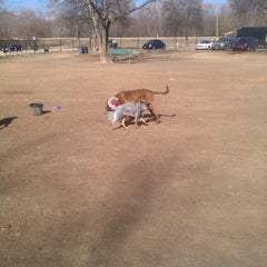 Photo taken at White Rock Lake Dog Park by Joseph P. on 1/23/2013