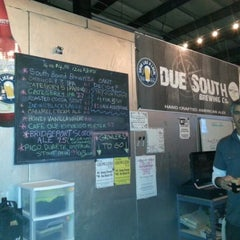 Photo taken at Due South Brewing Co. by Michael S. on 2/3/2013