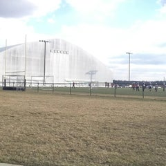 Photo taken at In the Net Sports Complex by Tina H. on 3/22/2013