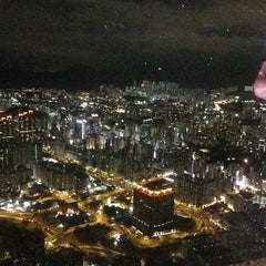 Photo taken at The Ritz-Carlton, Hong Kong by Moto S. on 12/27/2012