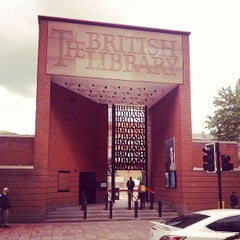 Photo taken at British Library by Paulo Cezar A. on 5/23/2013