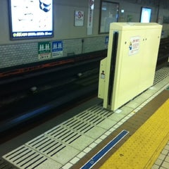 Photo taken at 地下鉄 さっぽろ駅 (N06/H07) by Chinami S. on 9/15/2012