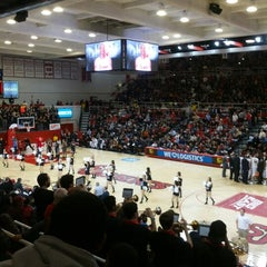 Photo taken at Carnesecca Arena by Jobin G. on 11/30/2012