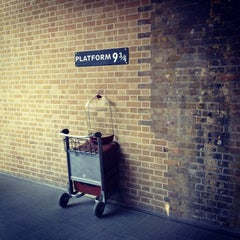 Photo taken at Platform 9¾ by Hannah W. on 4/6/2013