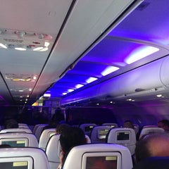 Photo taken at Virgin America by Dan . on 5/11/2013