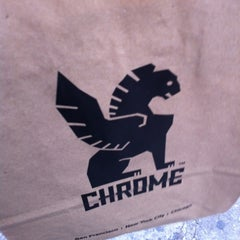 Photo taken at Chrome Industries by Ethan W. on 10/26/2012