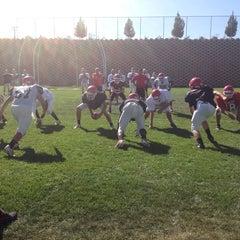 Photo taken at Oak Hills Bulldog Stadium by MJ P. on 9/24/2013