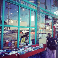Photo taken at Dog Eared Books by Dylan K. on 10/2/2013