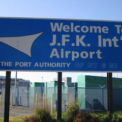 Photo taken at John F. Kennedy International Airport (JFK) by Al'mithara M. on 7/28/2013