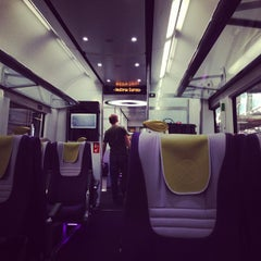 Photo taken at Heathrow Express Train - Paddington [PAD] to Heathrow [HXX] by Maximilian M. on 7/7/2013