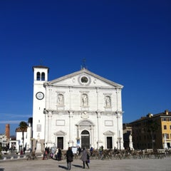 Photo taken at Piazza Grande by Diego D. on 1/6/2013