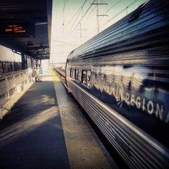 Photo taken at Bridgeport Train Station (BRP) - Metro North & Amtrak by David M. on 12/23/2012