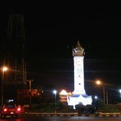 Photo taken at หอนาฬิกาเมืองมหาสารคาม (Maha Sarakham Clock Tower) by Josh T. on 10/25/2013