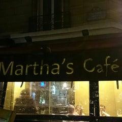 Photo taken at Martha's cafe by Mizuki O. on 1/24/2014
