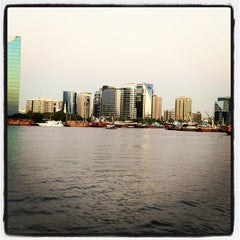 Photo taken at Dubai Creek by Vivie S. on 12/12/2012