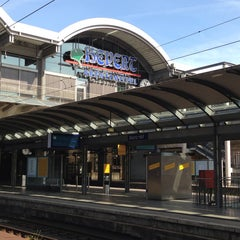 Photo taken at Mainz Hauptbahnhof by Ulrike K. on 8/15/2013