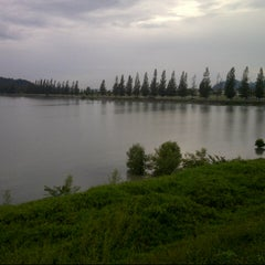Photo taken at Marina Island by Rohit S. on 12/31/2012