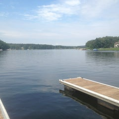 Photo taken at Deep Creek Lake by Whitney P. on 7/31/2013