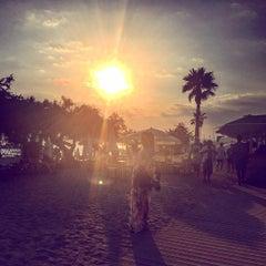 Photo taken at Zanzibar Natural Beach by Maryam A. on 8/21/2015